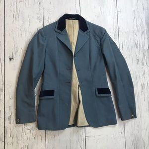 Vintage Pytchley Equestrian Blazer Navy Blue